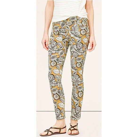 LOFT Denim - Ann Taylor LOFT Tropic Floral Denim Stretch Jeans